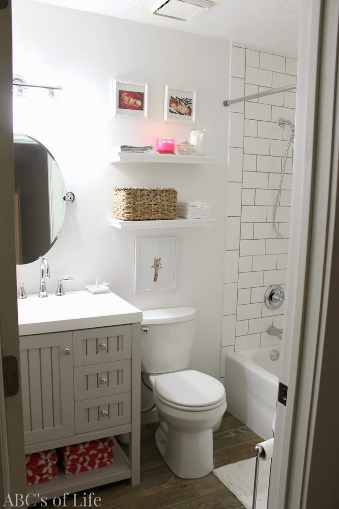Guest Bathroom Reno Reveal + Source List