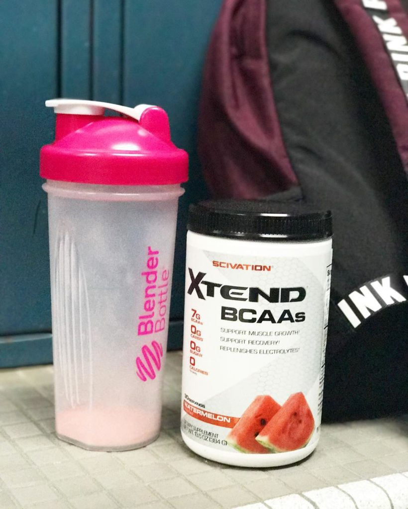 Thanks whitneyysimmons for the rec on the BCAAs! gymtime runitallaway