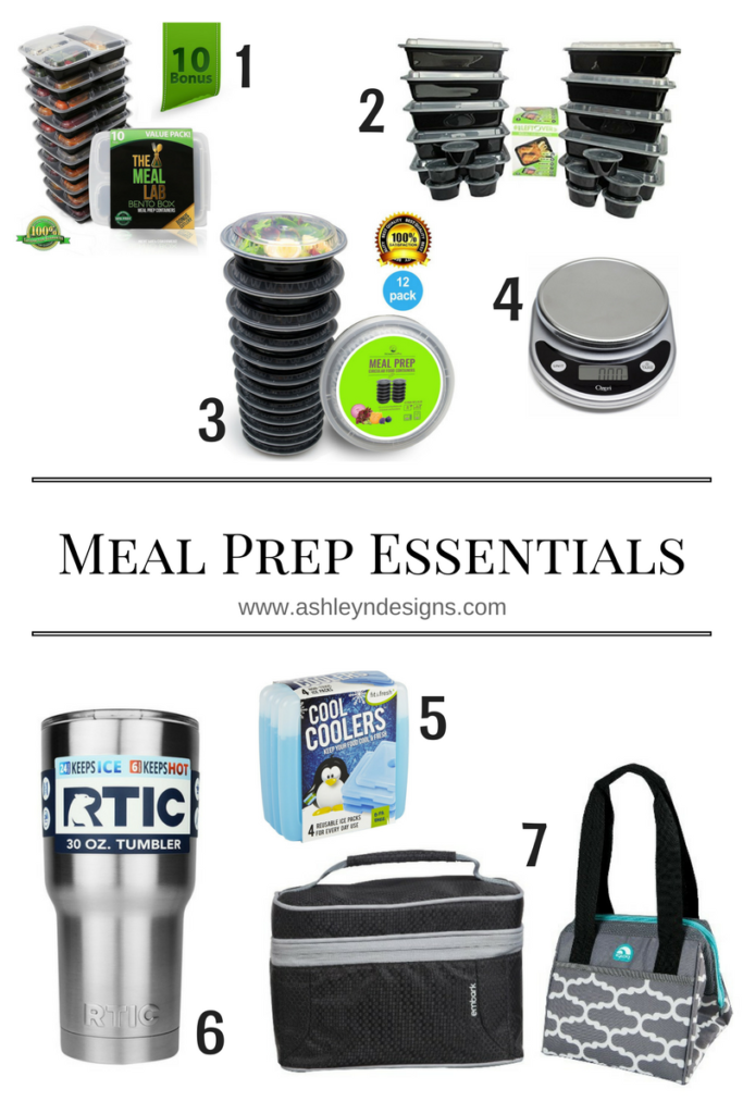 Meal Prep Essentials!
