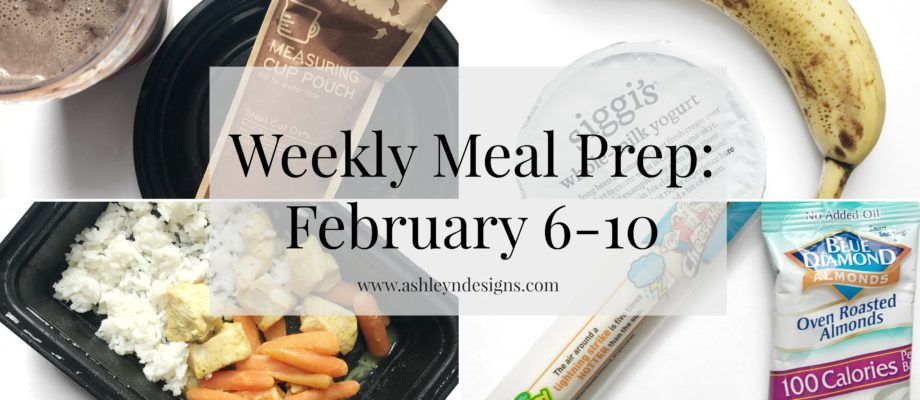 Weekly Meal Prep: February 6-10