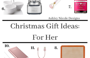 2018 Christmas gift ideas for her!