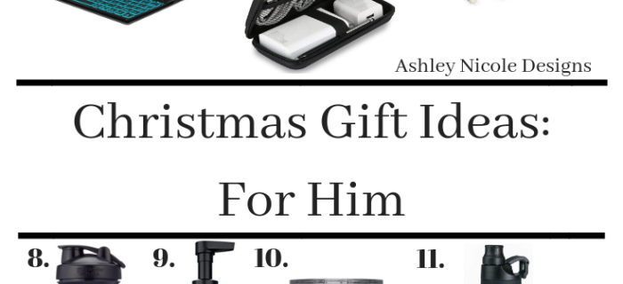 2018 Christmas gift ideas for him!